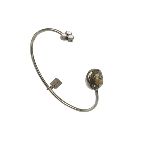 Labradorite Boudicca Bangle