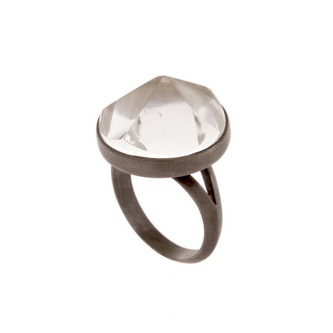 Clear Quartz Majestic Ring