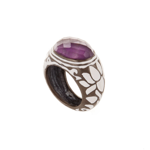 Amethyst Esperanza Ring (Large)