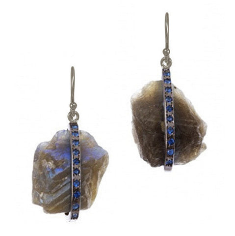 Labradorite Regal Earrings