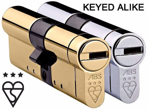 Keyed Alike Security Cylinders