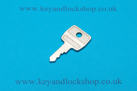 Boulton & Paul window lock key