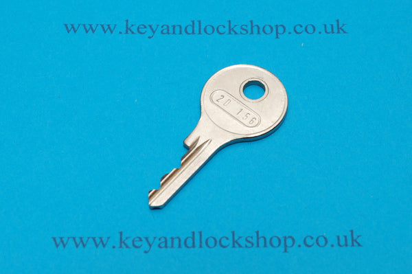 Hoppe Window Lock Key - 2D156