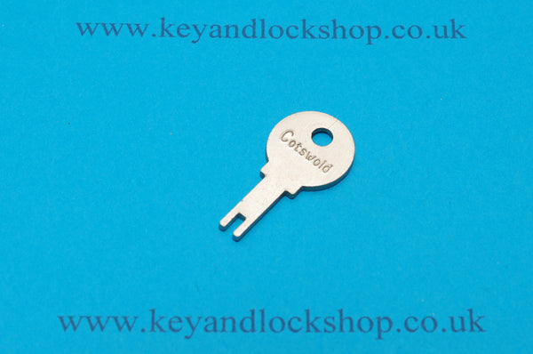 Cotswold window lock key