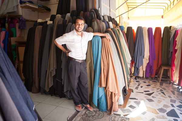 Abderrahim our fabric dealer