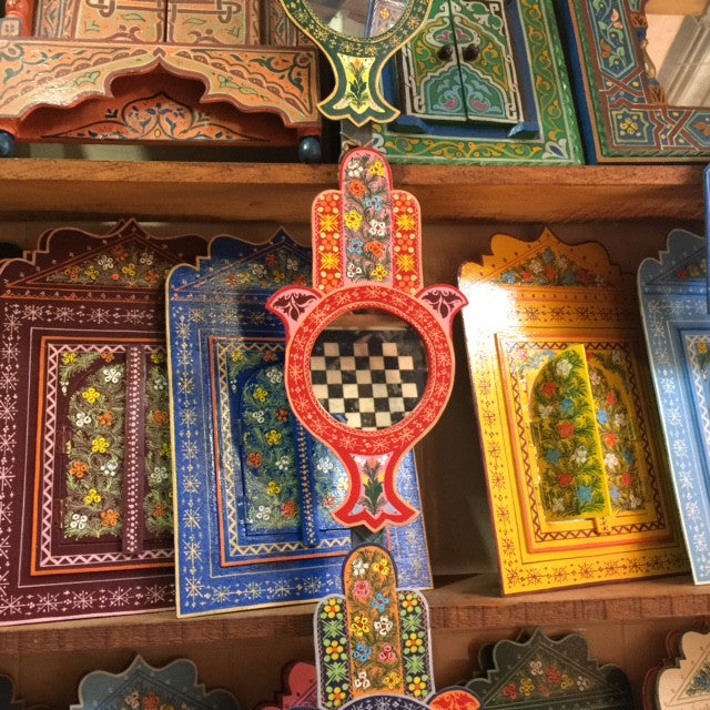 Peace Mirror. image number 5 of moroccan door ... - Moroccan Door & Blue Moroccan