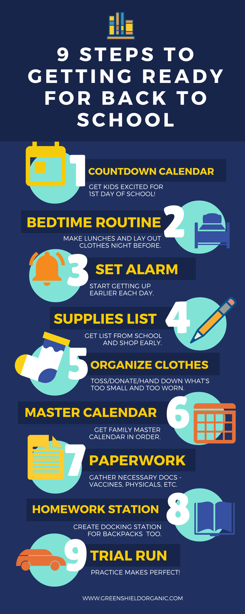 9 Steps to Get Ready for Back to School