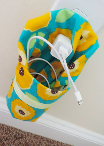 Upcycled DIY Cellphone Charging Station