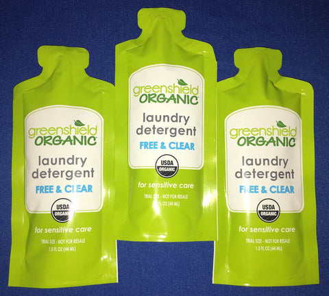 Laundry Detergent - Travel Size Samples