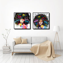 Afro-lady-oil-canvas-wall-art-painting-living-room-bedroom-5