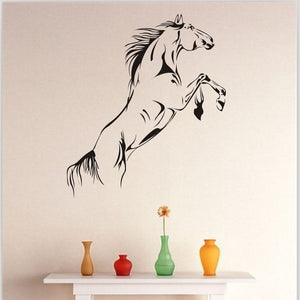 Black Horse Wall Decals