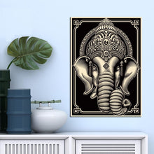 Ganesha-Hindu-God-Printed-Canvas-Wall-Art-Poster-review