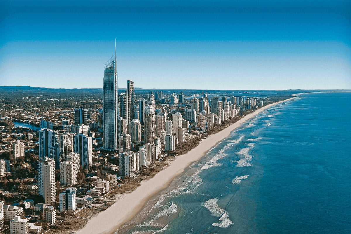 Gold-Coast-Surfers-Paradise-Canvas-Wall-Art-1