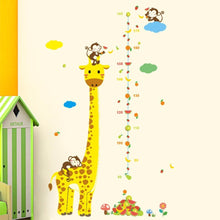 Cartoon-Giraffe-Height-Measurement-Wall-Stickers-1