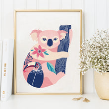 Koala-and-Toucan-Canvas-Wall-Art-1