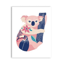 Koala-and-Toucan-Canvas-Wall-Art-4