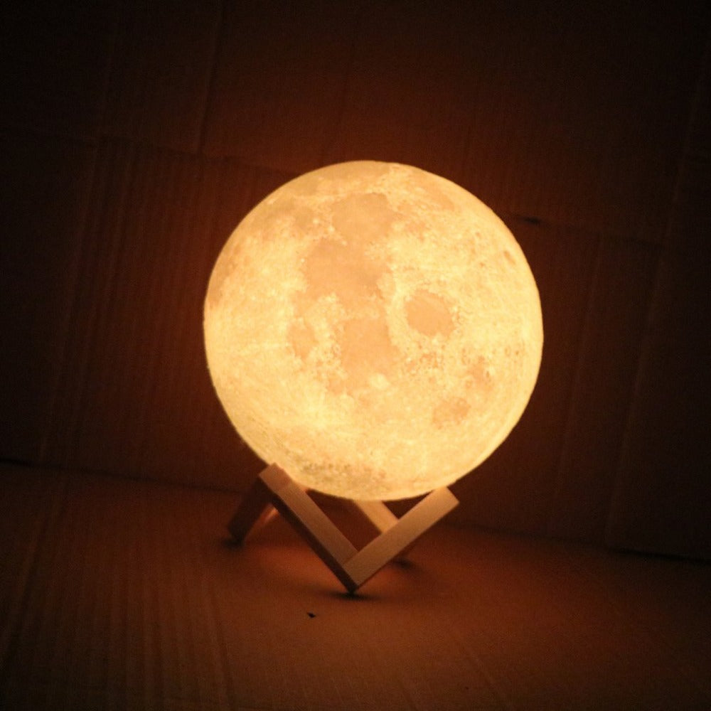 New-Rechargeable-LED-Night-Light-Moon-Lamp-3D-Print-Moonlight-Bedroom-Home-Decor-2-Colors-Touch-review-3