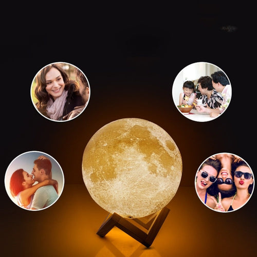 New-Rechargeable-LED-Night-Light-Moon-Lamp-3D-Print-Moonlight-Bedroom-Home-Decor-2-Colors-Touch-review-4