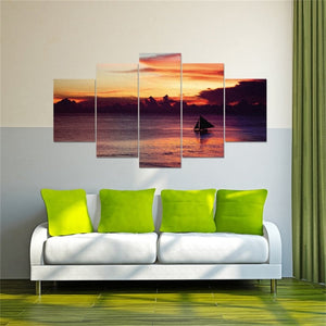 Sunset-or-landscape-oil-canvas-wall-art-painting-3