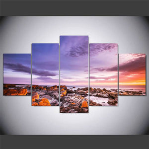 Tasmanias-Bay-of-Fires-Canvas-Wall-Art-2