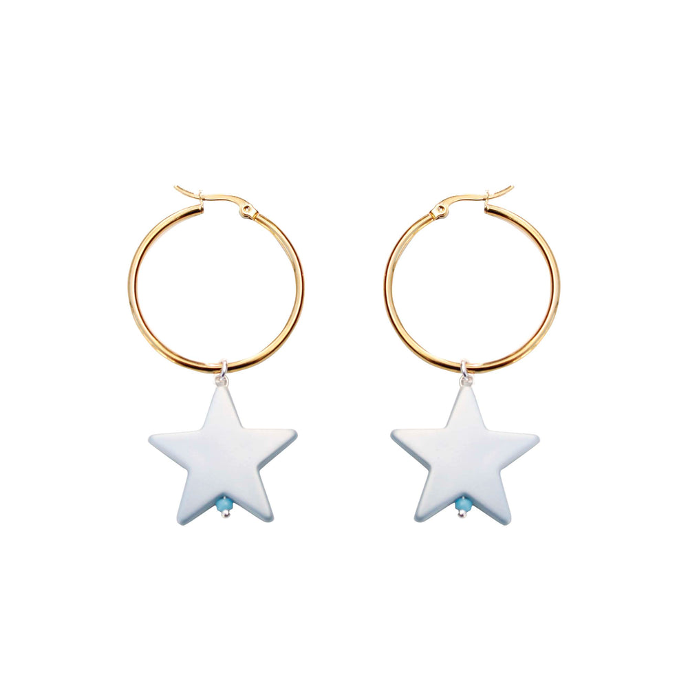 All Star Créole Earrings