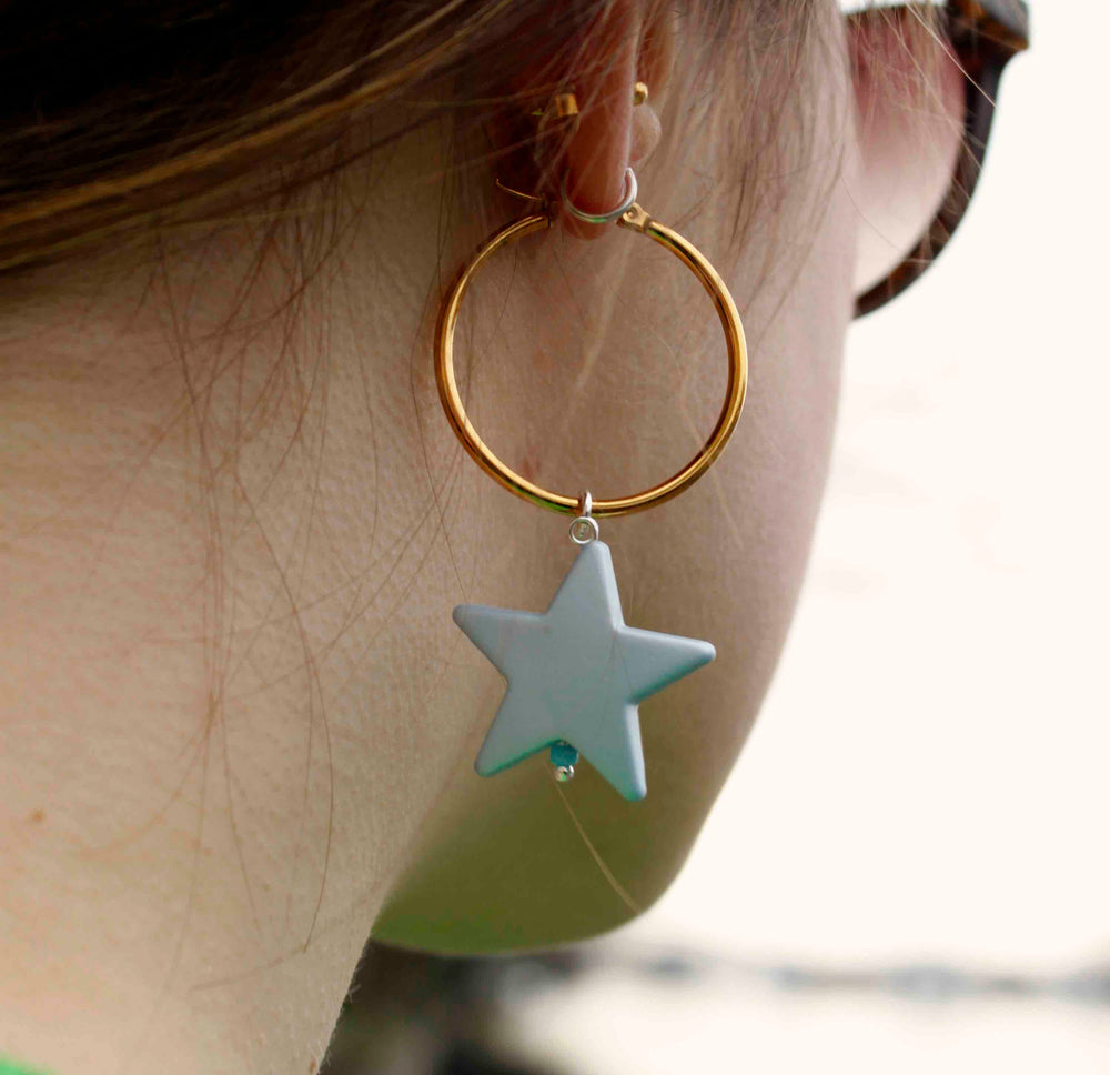 All Star Créole Earrings - melissacurry