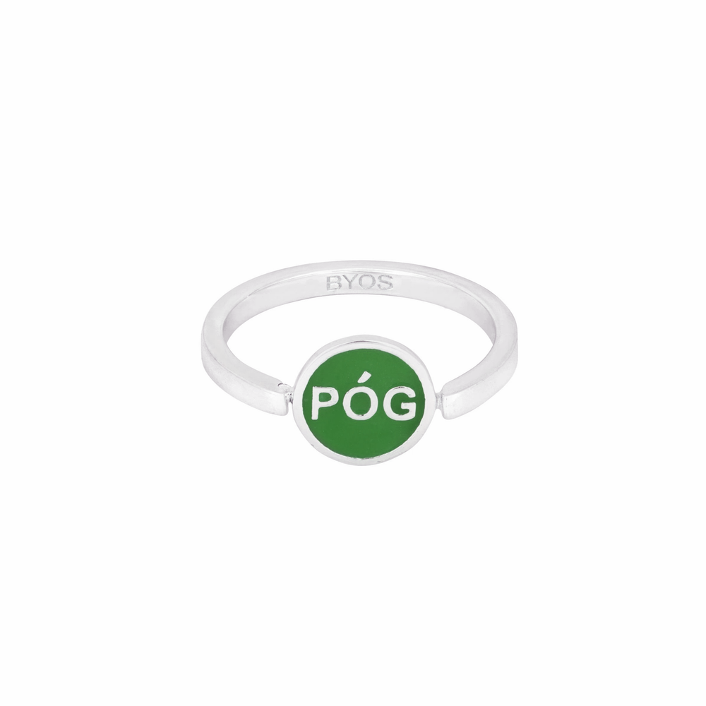 Póg Spinning Ring - Green Limited Edition