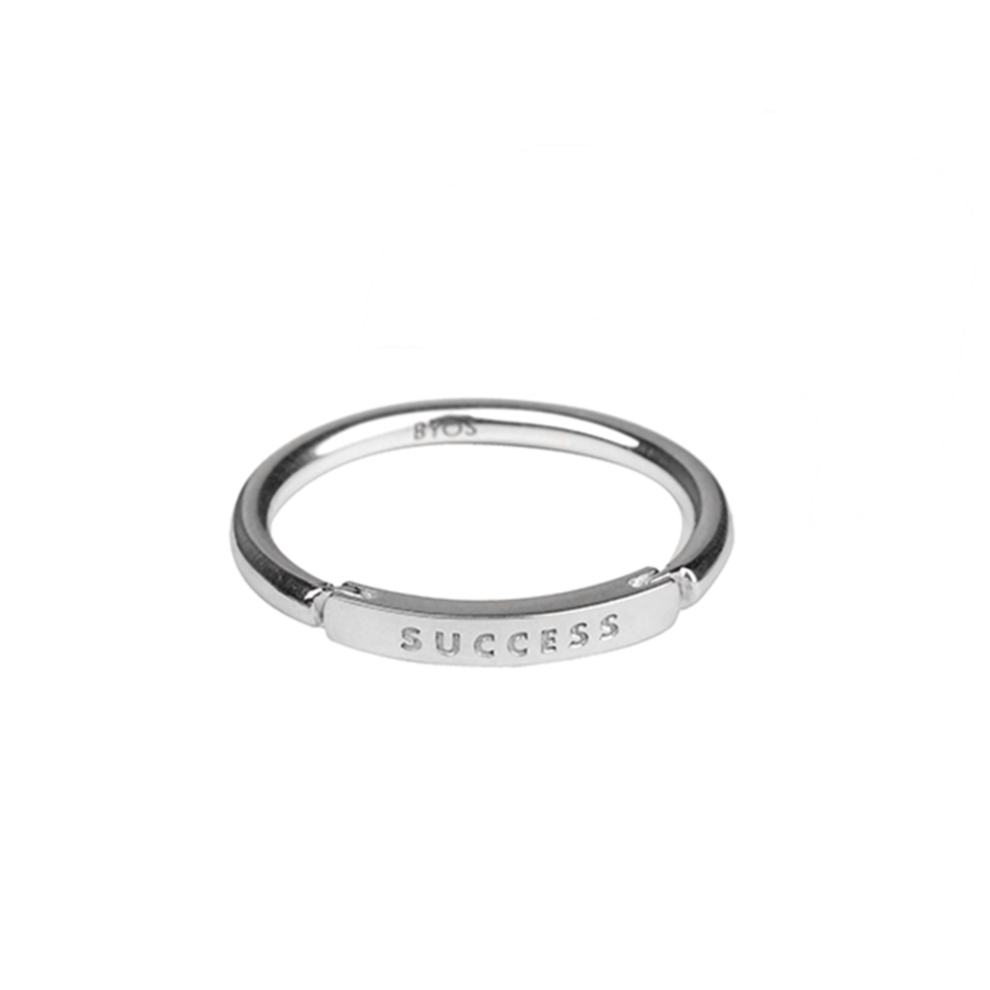 Little Bar of Strength - Ring (Sterling Silver)