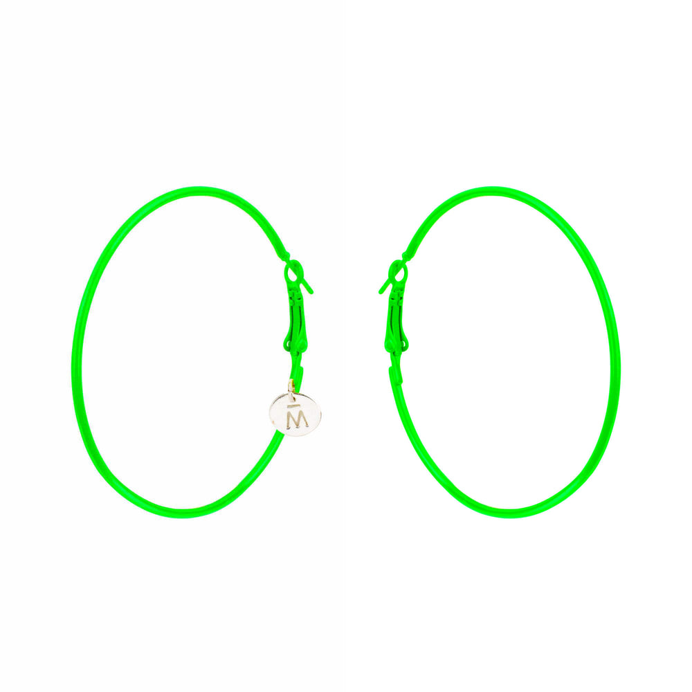 Mix and Match Neon Hoops - melissacurry