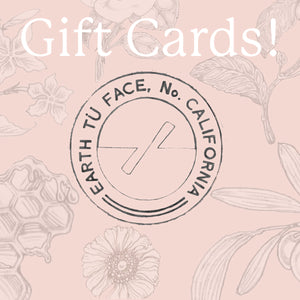 Earth Tu Face Gift Card