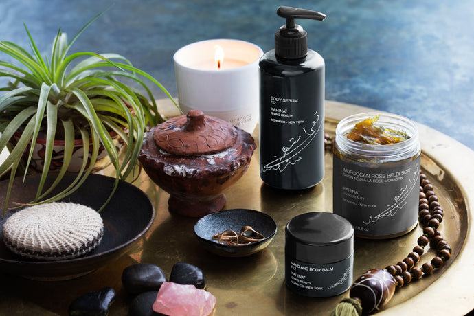 Greet 2018 with the softest skin with the KAHINA™ Body Ritual