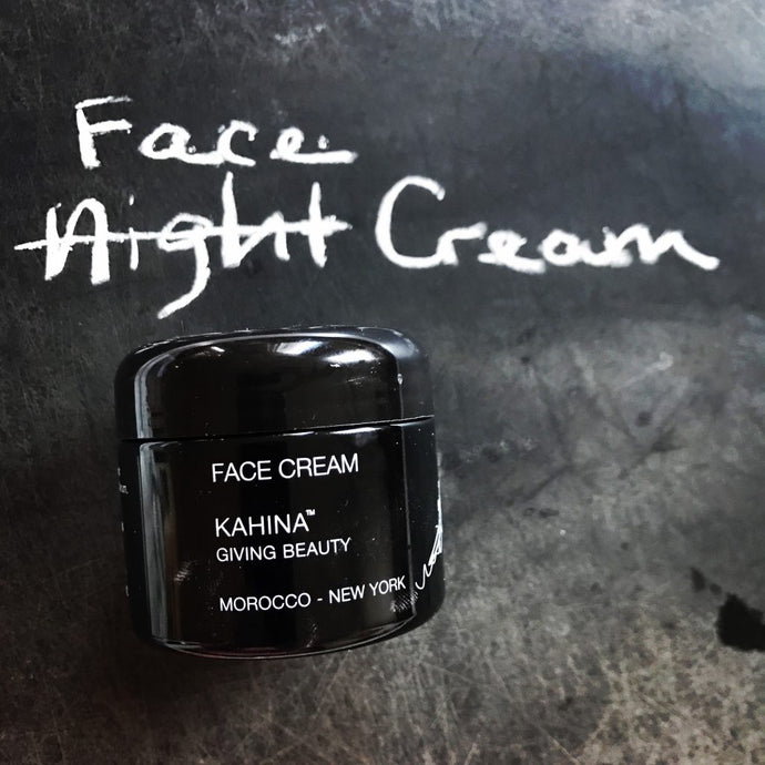 Kahina night cream gets a face lift