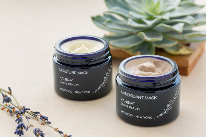 Our 2-step skin rejuvenating mask routine