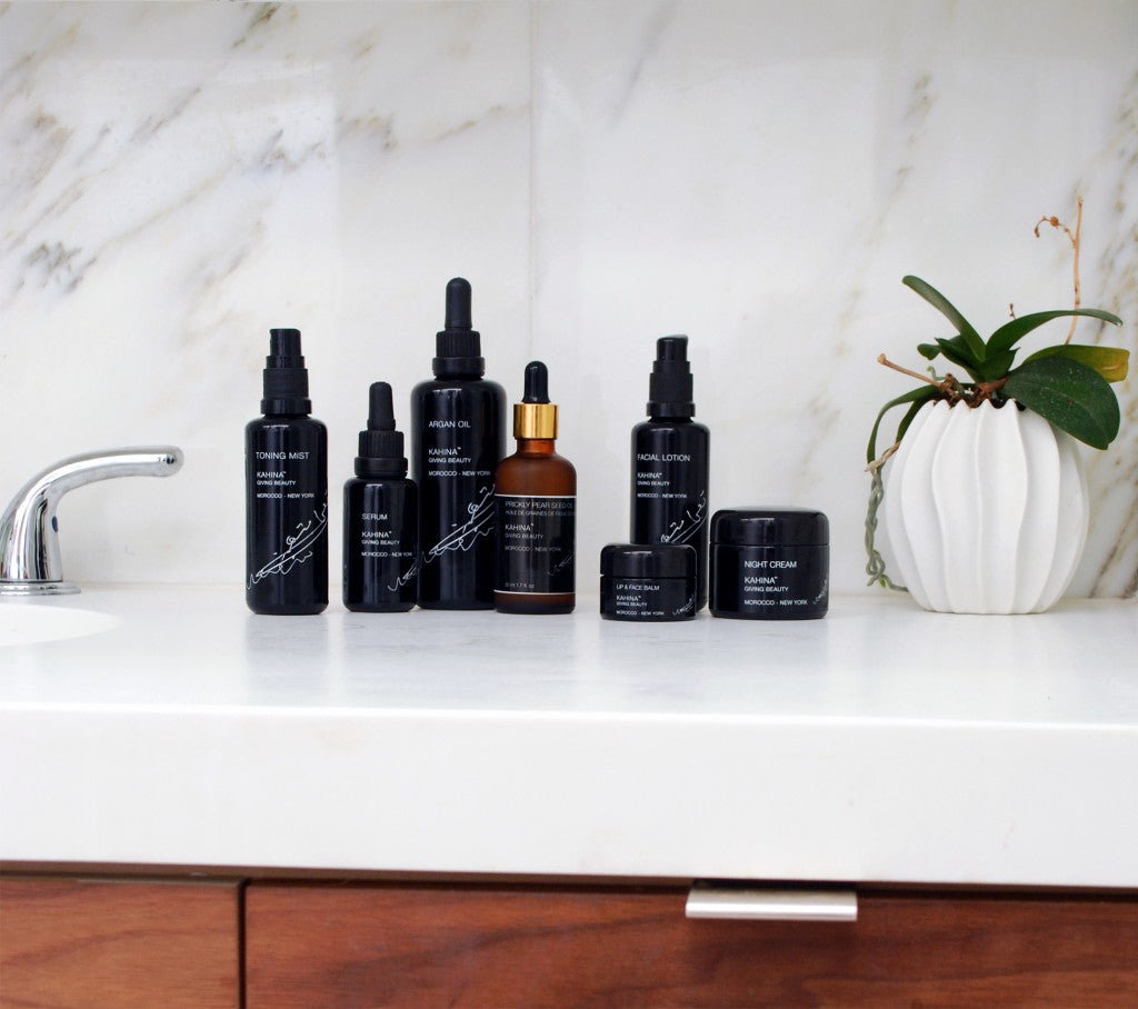 Kahina Oils and Moisturizers