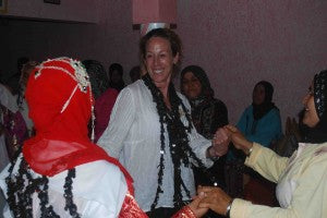 Celebrating in a Traditional Berber Fashion
