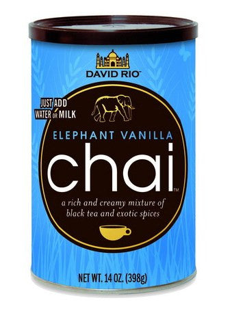 David Rio Elephant Vanilla Chai, 14oz