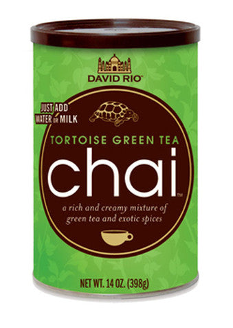 David Rio Tortoise Green Tea Chai, 14oz