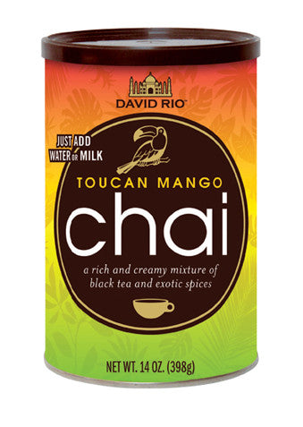 David Rio Toucan Mango Chai, 14oz