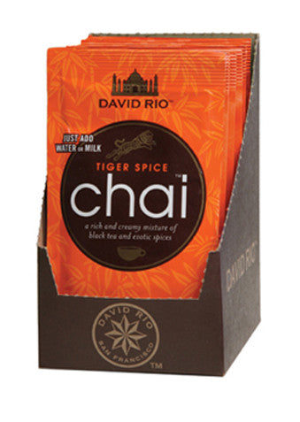 David Rio Tiger Spice Chai, 12 x 1.24oz