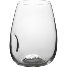 Trudeau Azzura Stemless Wine Glass, Set of 4