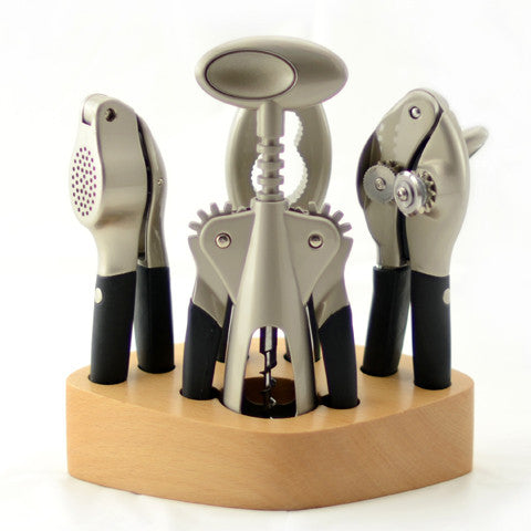 Five Piece Deluxe Zinc-Alloy Gadget Set