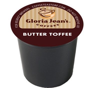 Gloria Jean's - Butter Toffee, 24 K-Cups