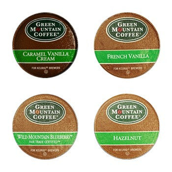 Flavored Variety K-Cup Coffee Sampler, 22 K-Cups
