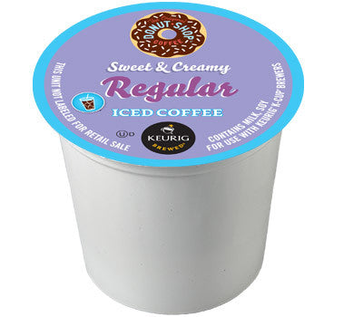 The Original Donut Shop - Sweet & Creamy Regular Iced Coffee, 22 K-Cups