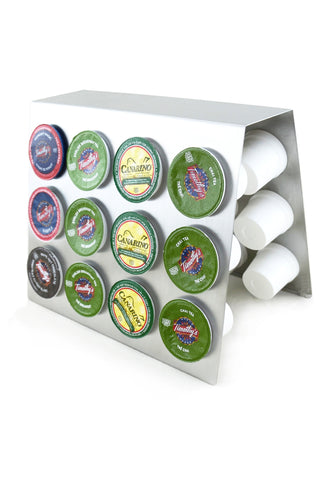 K-Cups and Dolce Gusto Stainless Steel Stand, Holds 24 Capsules