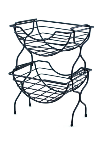 Two-Tier Stackable Basket