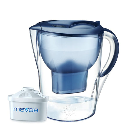 Aquavero Water Filter Pitcher, Aspen Blue