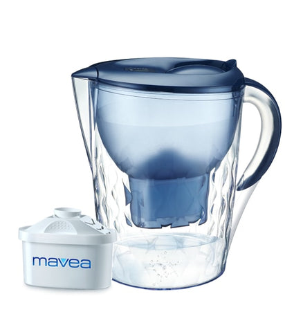 Aquavero Water Filter Pitcher, Everest Blue