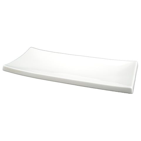 White Tie Oblong Sushi Plate, 13½