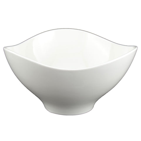 White Tie Triangular Bowl, 8